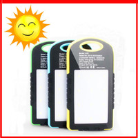 Wholesale Full capacity mAh solar A50 Power Bank Ultra Thin Slim Portable External Battery Backup