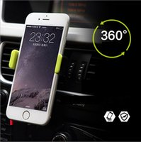 apple safety - Outlet Car phone holder Plastic Apple Car holder rotation Safety anti slip Easy to fix