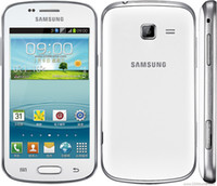Wholesale Refurbished Samsung GALAXY Trend Duos II S7572 G Smart Phone Inch Screen Android4 WIFI GPS Dual Core Unlocked