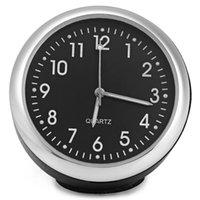 accurate time clock - Car Styling Car Interior Ornaments Quartz Clock Luminous Car Mechanics Quartz Clock Digital Pointer Give You Accurate Time