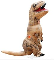 Wholesale Inflatable Dinosaur T REX Costume Blowup Dinosaur Halloween Costumes China Dinosaur Inflatable Costume For Adults Men Women