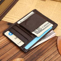 Wholesale Manufacturers custom made leather more screens wallet wallet multifunctional foreign trade special