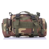 army gear bag - Camouflage Army Multi function P Sports Backpacks Climbing Outdoor Adventure Tactical Gear Water Resistance Camo black Waist Bag Colors