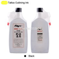 Wholesale products J20 Tattoo Outlining Ink OZ Black Color Tattoo Ink pigment Supply Fast shipping cosmetic microblading