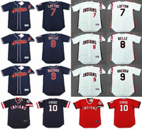 belle men - Cleveland Indians Men s Women s Youth Kenny Lofton Albert Belle Carlos Baerga Ray Fosse Throwback Jersey Stitched