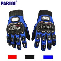 Wholesale Pro Biker Motorcycle Gloves Full Finger M L XL Motorbike Motocross Luvas Guantes Moto Protective Gears Gloves