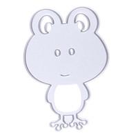 Wholesale Frog Scrapbook DIY album Card Paper Card Maker Metal Die Cut Stencil Decoration dies Craft Cutting Dies Template