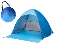 Wholesale Good quality quick automatic opening pop up tent outdoor camping beach tents