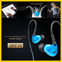 bass sound effect - C6 mm In Ear Headphones HIFI Music Headset Sound Effects Bass Wired Earphone with Microphone with Retail Package