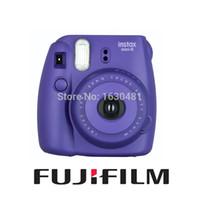Compra Instax fuji-Fujifilm <b>Fuji Instax</b> Mini 8 cámara instantánea de fotos de la cámara de uva púrpura nuevo color popular <b>Fuji Instax</b> Cámara