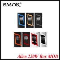 Wholesale Original SMOK Alien W TC Box MOD VW Temperature Control Alien TC Mod match Smok TFV8 Baby Tank X cube Ultra Vapor mods