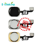 Wholesale New OEM iPhone and iPhone Plus Home Button Homebutton Menu Button with Flex Cable Assembly
