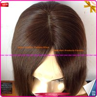 Wholesale Best Quality and Big Discount Now Virgin European Hair Silk Mesh Injection Knotting Kosher Women Wig