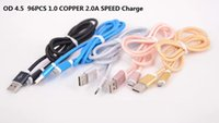Cheap Type-C 1M 3FT Nylon Braided Cable Best For Chinese Brand  braided cable