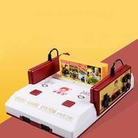2017 La consola clásica del fc del juego de la consola 8bit TV del juego de la caja TV de la caja de los juegos de la familia de la venta caliente con 400 diverso envío del juego DHL
