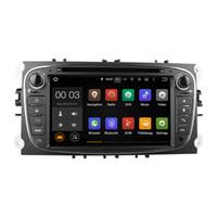 Système de lecteur multimédia de lecteur de radio DVD Android 5.1 RK3188 Avec Wifi DAB CanBus pour Ford Focus 2007-2011 C-Max S-Max Mondeo Galaxy