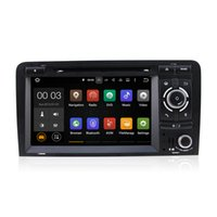 al por mayor pantalla dvd audi-Android 5.1 reproductor de DVD de coches reproductor multimedia sistema RK3188 con Wifi 3G Bluetooth DAB CanBus para Audi S3 RS3 RNSE-PU A3 2003-2011