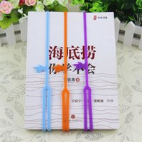 Wholesale Hot Sale New Cute Silicone Finger Pointing Bookmark Book Mark Office Supply Funny Gift Drop Shipping