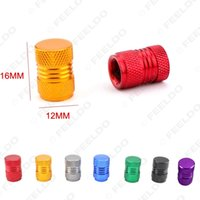 Wholesale 20Sets Auto Bicycle Car Tire Valve Caps Tyre Wheel Hexagonal Ventile Air Stems Cover Color