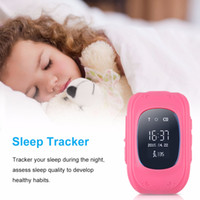 activity for children - Q50 Kids Smart Watch GPS LBS Double Location Safe Children Watch Activity Tracker SOS Card for Android and IOS from kindboy O BS