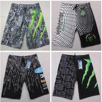 Monster Quick Dry Shorts pour Homme 2017 Summer Skull Shorts de bain Maillots de bain pour hommes Shorts pour bottes Shorts de plage pour hommes Maillots de bain Super Quick Dry