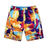 Men bermuda flowers - L Xl Korean Mens Casual Drawstring Knee Length Shorts Summer Plus Size Leisure Short Flower Bermuda Masculina Short Homme J1336