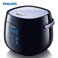 Wholesale HD3060 V w Black Cylinder Mini Multifunction Rice cooker Intelligent reservation Non stick coating L people x300x245mm