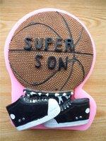 basketball candles - Basketball Sugar Cake Mold Silicone Mold Chocolate Mold Soap Soap Candle Tool