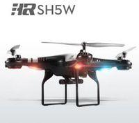 Le plus nouveau SH5 SH5W Wifi FPV Quadcopter RC Drone avec caméra HD 3D Headless mode4CH Gyro 6 axes RC Quadcopter RTF VS syma X5SW X5C