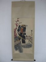 beautiful chinese paintings - Chinese Paintings Scrolls Hand Painted Beautiful eagle Standing on the pine tree Hang paintings Traditional Chinese painting Pan Tianshou