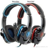 Wholesale SA Surround Stereo USB Headband Headphone High Quality New Headset with Microphone Hot sale
