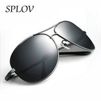 Venta al por mayor- Nuevas gafas de sol Polarized 2017 Polarized clásico Pilot Sun hombres de los vidrios de las mujeres que conducen polarizado Sun Varón Viaje Gafas de viaje