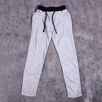 Wholesale Korean Style Man Polyester Cotton Elastic Waist New Long Pants For running yoga Sports