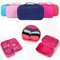 Wholesale Fashion Ladies Underwear Bra Travel Wash Bags Portable Stuff Sacks Cosmetic Pocket Lolita Vacation Make up Waterproof Toiletry Kit Chic Gift