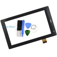 Wholesale quot Inch Touch Screen Digitizer Glass Replacement OEM Compatible with TPC1463 VER5 FL TPT Tablet PC