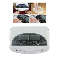 big foot spa - For two persons Detox Foot Spa With Dual big LCD Display Foot Relaxtion Detox Steel House of Main Machine Negative Ion