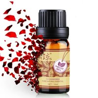 Cheap Wholesale-100% Natural Rose Essential Oil 10ml Moisturizing and Hydrating Whitening Massage oils Skin Care Facial Morocco Pure Rose oil