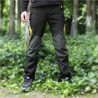 Wholesale Tide Brand Outdoor Assault Trousers Men And Women Couples Plus Velvet Thick Warm Color Waterproof Sports Hiking Trousers Winter Large Size