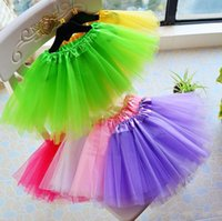 Wholesale 2017 The best match girl children children dancing gauze skirt tutu Pettiskirt Dancewear ballet dress skirt attire