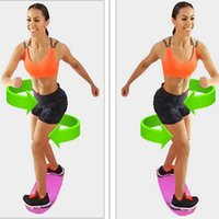 Wholesale Fit Board Yoga Fitness Sports Balance Board Trainer Workout Board Colors Yoga Fitness Balance Trainer New Arrival