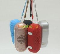 Mini Size Pill xl 2.0 Haut-parleur Bluetooth Portable sans fil TF Carte USB FM Radio Lecteur de musique lecteur de voiture appel mains libres MIC pour iPhone 6s 7