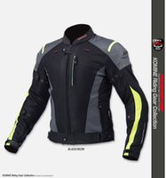 Running Men Polyester Wholesale- jk069 summer breathable motorcycle jackets riding off-road jackets racing clothing cycling jackets drop resistance