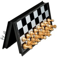 Wholesale Popular portable Chess Game With Folding Magnetic Board size S M L specially suitable for traveling or outdoor entertainment
