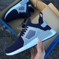 art boxes for children - With Box Cheap NMD XR1 Men Women Glitch Black White Blue Camo Adult Kids Children Running Shoes For men sports shoe Size