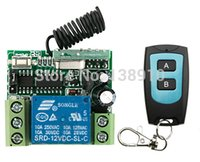Wholesale Hot Sales New DC12V CH A RF Wireless Remote Control Switch System teleswitch X Transmitter X Receiver MHZ