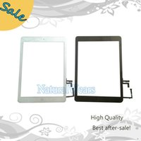 Wholesale High Quality Touch Screen Glass Lens Digitizer Replacement For Ipad Air A1474 A1475 Two color