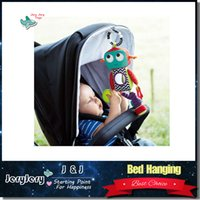 android toy robot - Baby Toy Soft Plush Toy Crib Bed Stroller Hanging Robot Cute Android Teether Rattle Ring Bell Doll