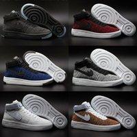 baby skate shoes - Fash shipping Fashion lovers AF1 high top Skate shoes Hot selling AF low SUPREMEes SP Airs Men Women Baby Kids Skateboarding Shoes