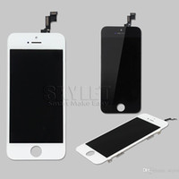 Wholesale Skylet For iPhone C S Plus Top Quality AAA Front Screen LCD Display With Digitizer Touch Screen Black or White