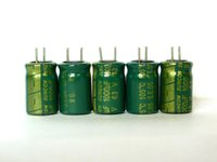 al por mayor sanyo condensadores electrolíticos-Venta al por mayor - 20pcs 1000uF 6.3V SANYO SUNCON serie WG 8x12mm súper baja ESR 6.3V1000uF condensador electrolítico de aluminio